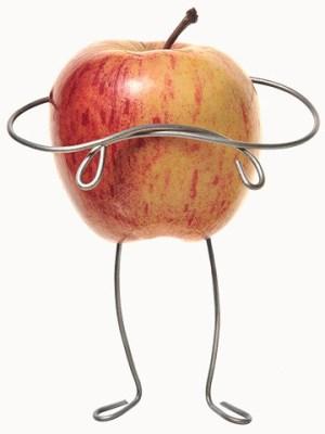 похудеть к новому году яблоко