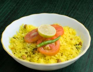 рис с куркумой