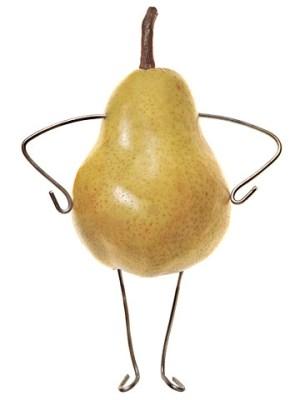 похудеть к новому году груша
