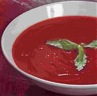 томатный суп-пюое